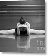 Ballerina Resting Metal Print by Allegresse Photography