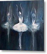 Ballerina. Swan Lake. Metal Print