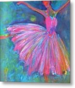 Ballet Bliss Metal Print by Deb Magelssen