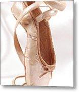 Ballet Shoe Metal Print