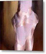 Ballet Slippers 2 Metal Print by Karen Larter