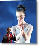 Ballet With A Stranger Metal Print