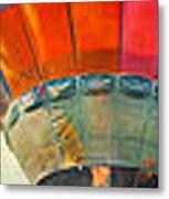Balloon Banner Metal Print