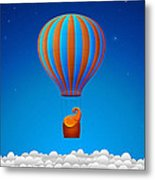 Balloon Elephant Metal Print by Gianfranco Weiss