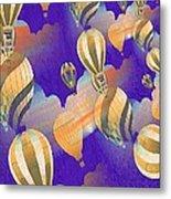Balloon Fantasy Metal Print