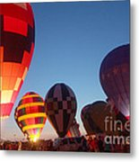 Balloon-glow-7783 Metal Print
