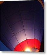 Balloon-glowpurple-7710 Metal Print