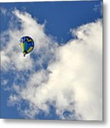 Balloon In The Clouds Metal Print