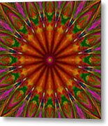 Balloon Kaleidoscope Metal Print