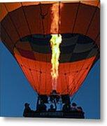 Balloon Ride At Dawn Metal Print