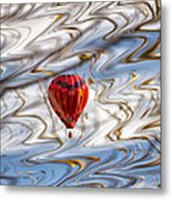 Balloon Shimmy Metal Print