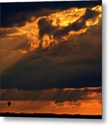 Ballooning With The Gods Metal Print