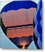 Balloons Before Sunset Metal Print