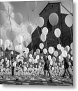 Balloons For Charity Metal Print