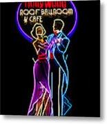 Ballroom Dancing Sign Metal Print