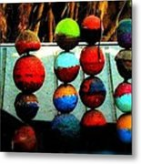 Balls From Heaven Metal Print by Claudette Bujold-Poirier