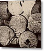 Balls Of String Metal Print