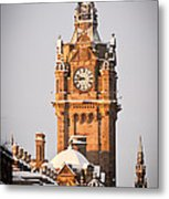 Balmoral Hotel Clock Tower Metal Print