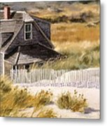Balston Beach House Metal Print by Karol Wyckoff