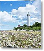 Baltic Sea Lighthouse Metal Print