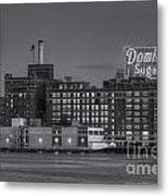 Baltimore Domino Sugars Plant II Metal Print