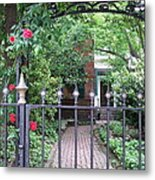 Baltimore Garden Metal Print