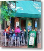 Baltimore - Happy Hour In Fells Point Metal Print