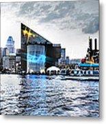 Baltimore - Harborplace - Inner Harbor At Night  Metal Print