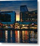 Baltimore Harborplace Light Street Pavilion Metal Print