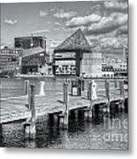 Baltimore Inner Harbor Skyline Vi Metal Print