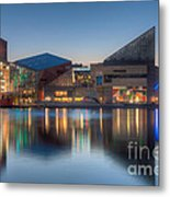 Baltimore National Aquarium At Dawn I Metal Print