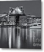 Baltimore National Aquarium At Twilight II Metal Print