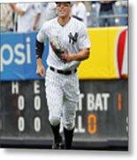 Baltimore Orioles vs New York Yankees Metal Print