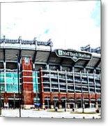 Baltimore Ravens - M And T Bank Stadium Metal Print