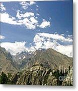 Baltit Fort In Hunza In Pakistan Metal Print
