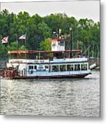 Bama Belle On The Black Warrior River Metal Print