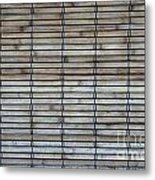 Bambo Wall Metal Print