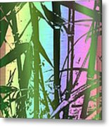 Bamboo Study 8 Metal Print