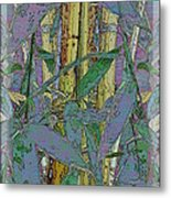 Bamboo Study 9 Metal Print by Tim Allen