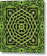 Bamboo Symmetry Metal Print