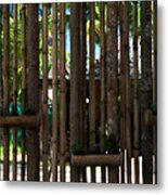 Bamboo View Metal Print