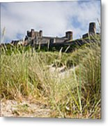 Bamburgh Castle From The Dunes Metal Print