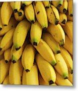 Bananas At The Saturday Market, San Metal Print