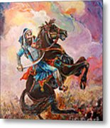 Banda Singh Bahadur Metal Print