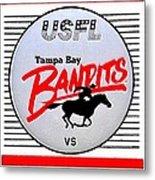 Bandit Ball Metal Print by Benjamin Yeager