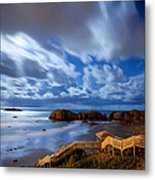 Bandon Nightlife Metal Print