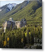 Banff Fairmont Springs Hotel Metal Print