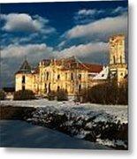 Banffy Castle In Transylvania Metal Print