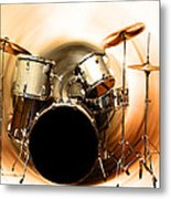 Bang On The Drum All Day Metal Print