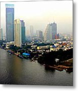 Bangkok In Early Morning Light Metal Print